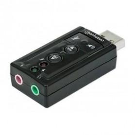 USB2.0 SCHEDA AUDIO, 7.1 VIRTUAL 3D SOUNEFFEKT