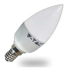 V-TAC VT-1818 LED BULB - 4W E14 CANDELA 6400K - SKU 4122
