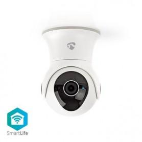 VIDEOCAMERA SMART IP Wi-Fi CON ROTAZIONE E INCLINAZIONE FULL HD 1080p RESISTENTE ALL\'ACQUA