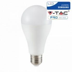 VT-217 LED BULB - SAMSUNG CHIP 17W E27 A65 PLASTIC 4000K