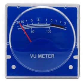 VU METER AUDIO 40x40mm 1kOhm