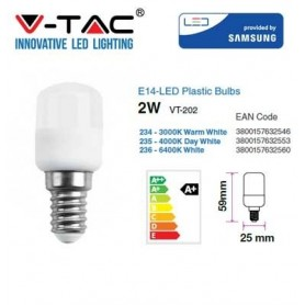 LAMPADINA LED CHIP SAMSUNG E14 2W ST26 4000K