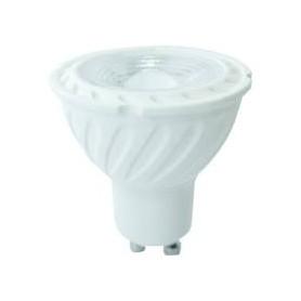 LED SPOTLIGHT - 6,5W GU10 Plastic With Lens 3000K 110°