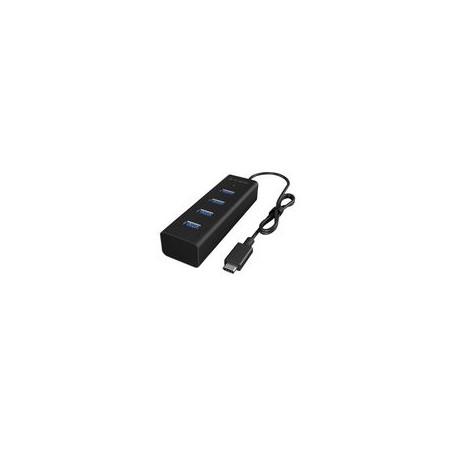 MULTIPRESA 4-PORTE HUB USB3.0 Nero