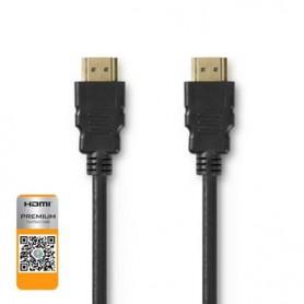 CAVO PREMIUM HDMI™ AD ALTA VELOCITA\' CON  ETHERNET 1,00m