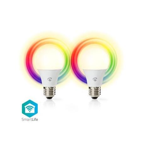 LAMPADINE LED SMART Wi-Fi MULTICOLORE E27 PZ 2