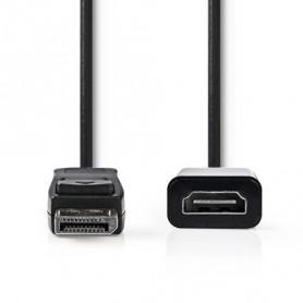 CAVO DISPLAYPORT MASCHIO - USCITA HDMI™  0.2m NERO