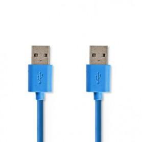 CAVO USB 3.0  MASCHIO-MASCHIO 5,0m BLU