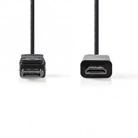 CAVO  DisplayPort Maschio - Connettore HDMI 2mt