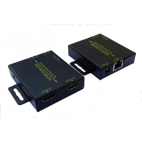HDMI EXTENDER CAT 5e6  1 CAVO - 50 mt - HDMI LOOP - POE