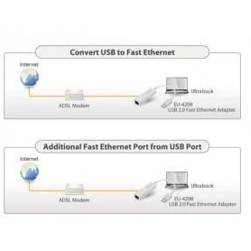 RETE ADATTATORE USB 10-100 Mbit