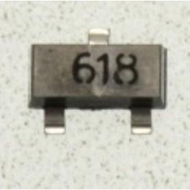 618 TRANSISTOR NPN SOT-23 TYP- FMMT618TA SMD