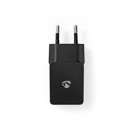 CARICABATTERIA  2.4 A  5V 1 USCITA USB-A NERO