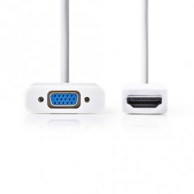Cavo HDMI™ - VGA FEMMINA + USCITA DA 3,5mm LUNGHEZZA 0,2mt