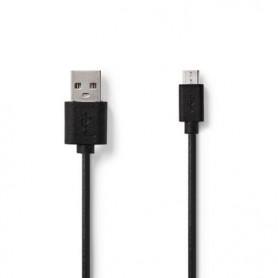 CAVO USB 2.0 USB A MASCHIO - MICRO B MASCHIO 1mt