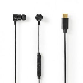 CUFFIE AURICOLARI USB-C™ CAVO DA 1,2 m  ASSISTENTE VOCALE