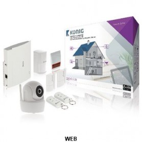 KIT DI SICUREZZA INTELLIGENTE Wi-Fi - 868 MHz