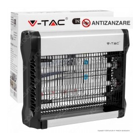 V-TAC VT-3216 ZANZARIERA ELETTRICA CON TUBI UV 2*8W 50mq