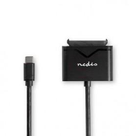 ADATTATORE DISCO RIGIDO DA 2,5 USB-C - SATA  UNIVERSALE