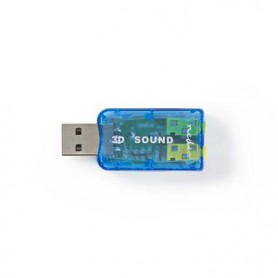 CONTROLLER AUDIO USB 3D 5.1 CONNETTORE DOPPIO DA 3,5mm