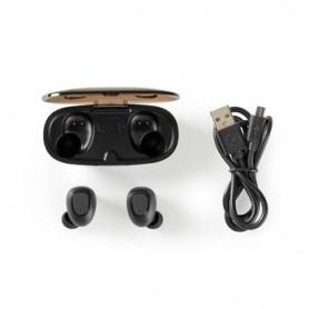 AURICOLARI Bluetooth® WIRELESS  5 ORE DI RIPRODUZIONE CONTROLLO VOCALE CUSTOCIA DI RICARICA WIRELESS