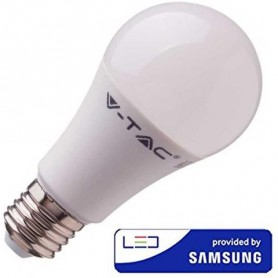 LAMPADINA LED E27 8,5W BIANCO NATURALE CHIP SAMSUNG EQ 75W