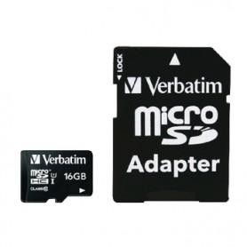 MICRO SD DA 16 GB CON ADATTATORE SD