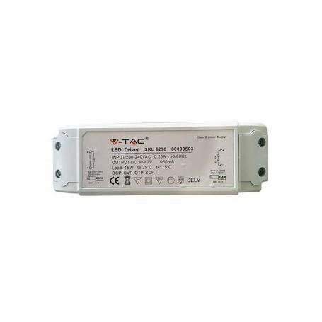 V-TAC DRIVER PER PANNELLI LED 45W A++ Anti-Sfarfallio