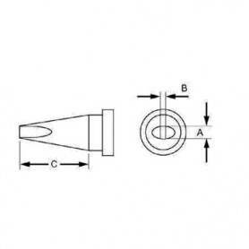 PUNTA SALDATORE 2.4 x 0.08 mm