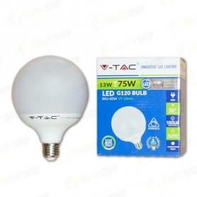 V-TAC VT-1884D LAMPADINA LED E27 13W G120 3000K DIMMERABILE