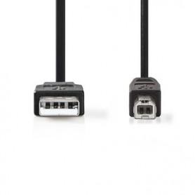 CAVO USB 2.0  A MASCHIO - B MASCHIO 1mt