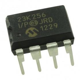 23K256 - I-P SRAM  SERIAL  256K  2,7V  PDIP8