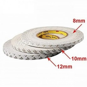BIADESIVO 3M 12mm PER BARRE LED 50 mt