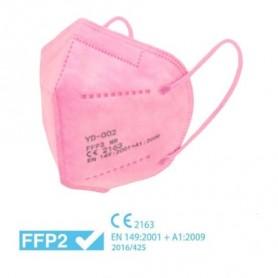 MASCHERINA FFP2 PINK CERTIFICATA