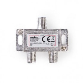 COMBINATORE SATELLITARE 5-862 MHz  950-2400 MHz  75 Ohm  PASSAGGIO DI POTENZA