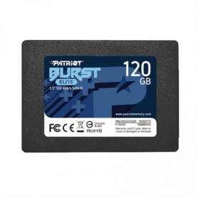 SSD-SOLID STATE DISK 2.5 120GB SATA3 PATRIOT PBE120GS25SSDR BURST ELITE READ: 450MB-S-WRITE: 320MB-S