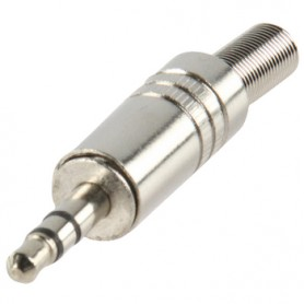 JACK STEREO 3,5 mm METALLO