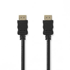 CAVO HDMI ™ AD ALTA VELOCITA\' CON ETHERNET 4K@30Hz 10.2 Gbps  0.50 m