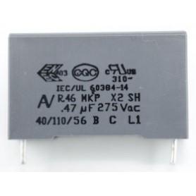 CAP TH POLY 470NF 275VAC-560VDC %10 X2