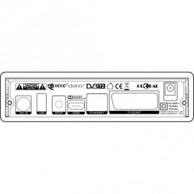 RICEVITORE DIGIT. DVB-T2 HEVC H.265 HDR HDMI-SCART TELEC. 2IN1