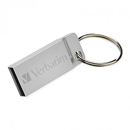16GB METAL EXECUTIVE SILVER USB 2.0 DRIVE 16GB
