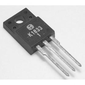 2SK1833 - n-channel fet - v-mos - 500v - 2,5 - 40w