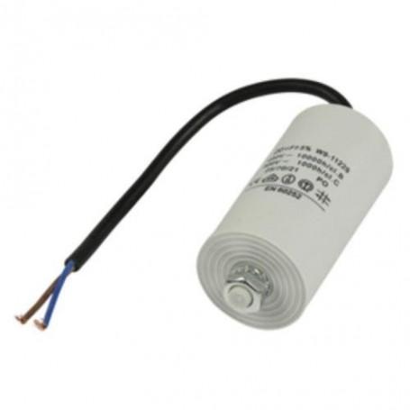 40,0UF-450V TWIN CABLE 250MM CONDENSATORE