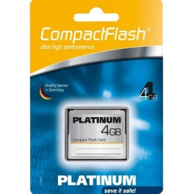 4GB PLATINUM COMPACT FLASH CARD