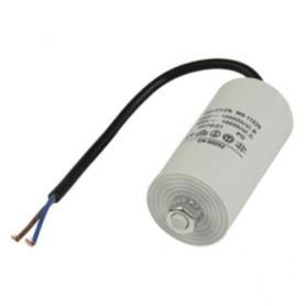 5,0UF-450V TWIN CABLE 250MM CONDENSATORE