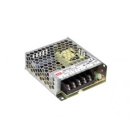AC-DC Enclosed 1U low profile 35W 12Vdc 3A no load cons