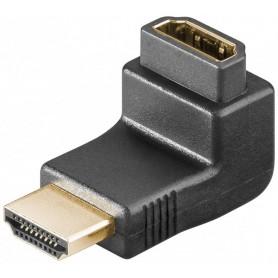 ADATTATORE ANGOLARE HDMI™ DORATO