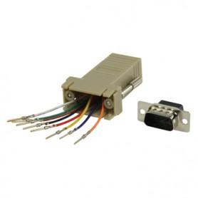 ADATTATORE ISDN T SPINA RJ45 A PRESA RJ45 (8P8C) 2x