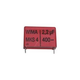 2,2UF-400V MKS4-CONDENSATORE 27,5MM