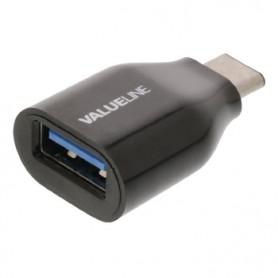 ADATTATORE USB 3.0 USB-A Femmina - USB-C Maschio